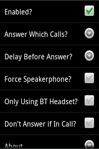Auto Answer Incoming Call