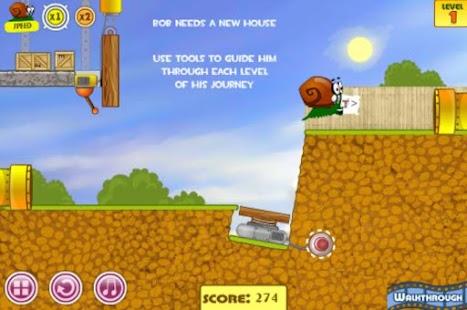 蜗牛冒险游戏