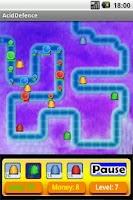 Screenshot of Acid Defender