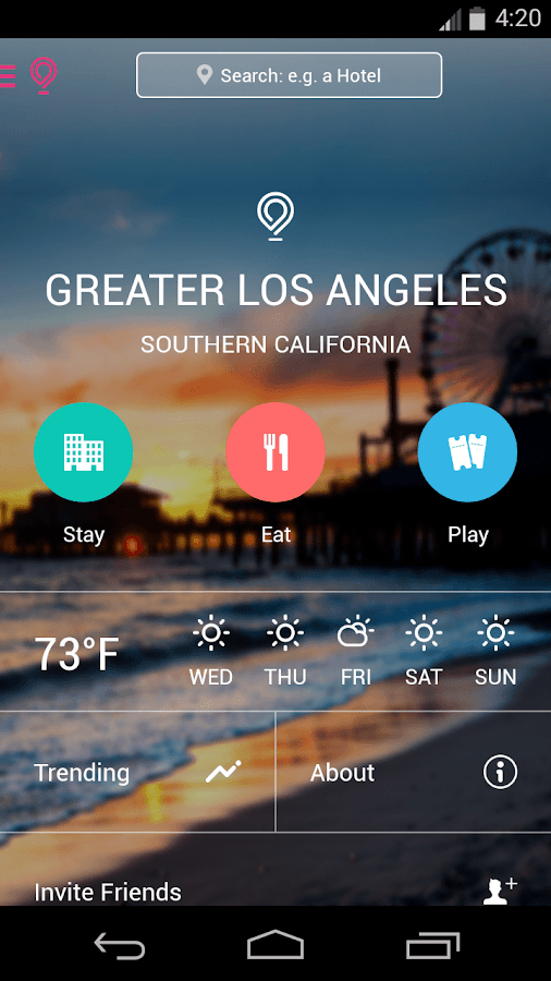 Los Angeles City Guide - L.A.- screenshot