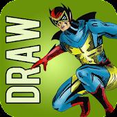 How to Draw Comics Superheroes