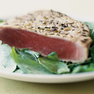 Spice-Crusted Tuna.