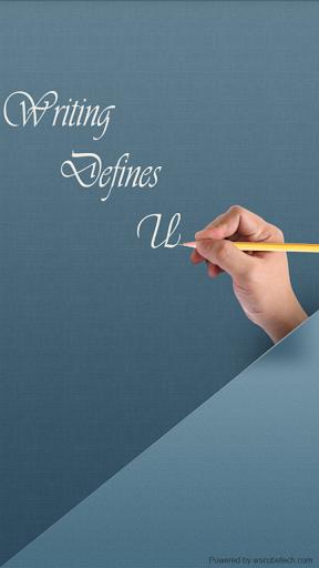Writing Defines U - Graphology