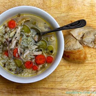 Chicken & Wild Rice Soup.