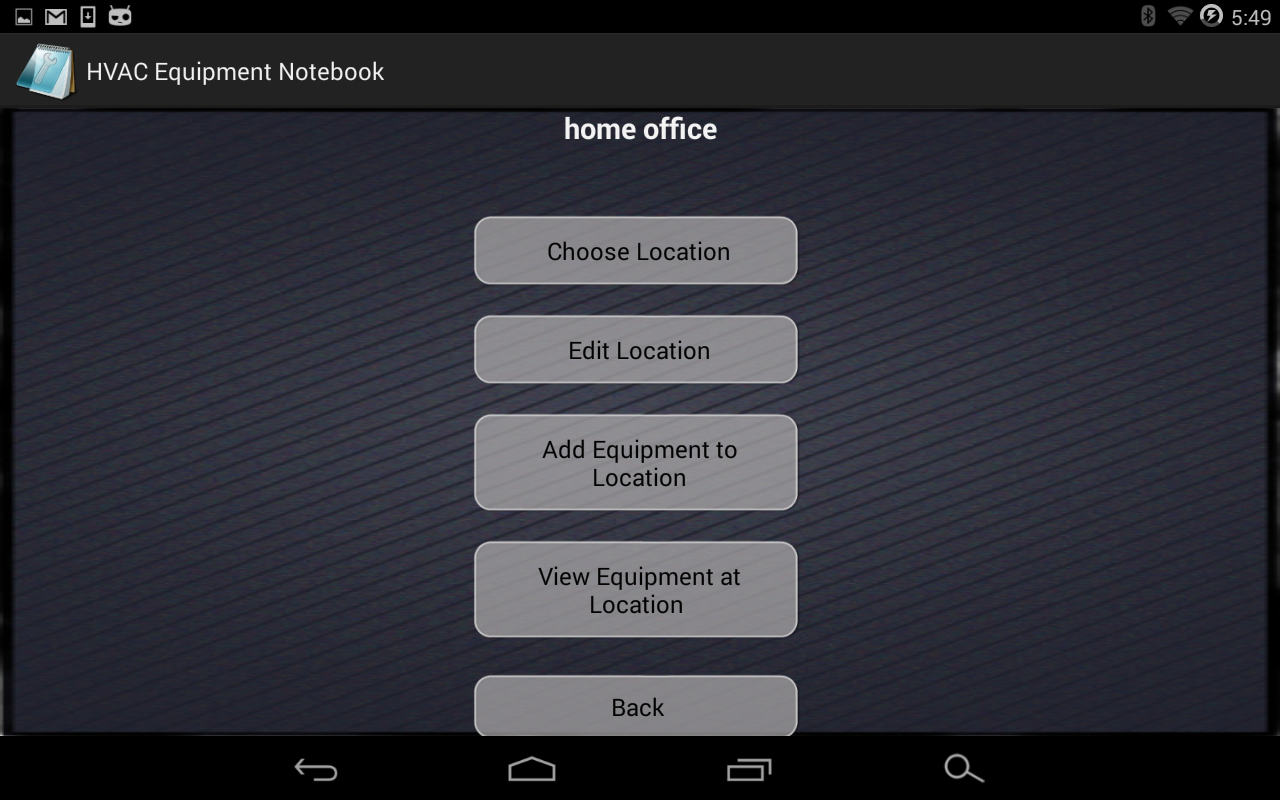 HVAC Equipment Notebook Free- screenshot