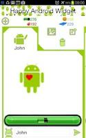Screenshot of Happy Android Widget