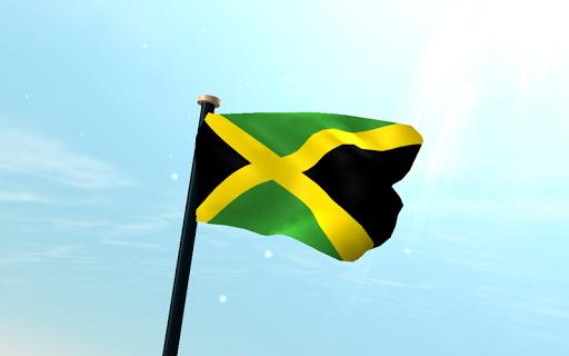 牙买加旗3D免费动态壁纸|玩個人化App免費|玩APPs
