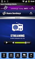 Screenshot of Suara Surabaya Mobile