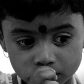 Portrait by Suman Nag - Babies & Children Child Portraits ( child, innocemt, immotion, photography, portrait,  )