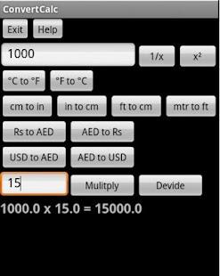 ConvertCalc Calculator Convert screenshot