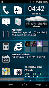 Home8 like Windows8 launcher - screenshot thumbnail