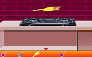 Screenshot of Pink Kitchen Escape Games