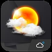 3D質感﹣時鐘天氣小工具﹣琥珀天氣,最贊的天氣小工具!