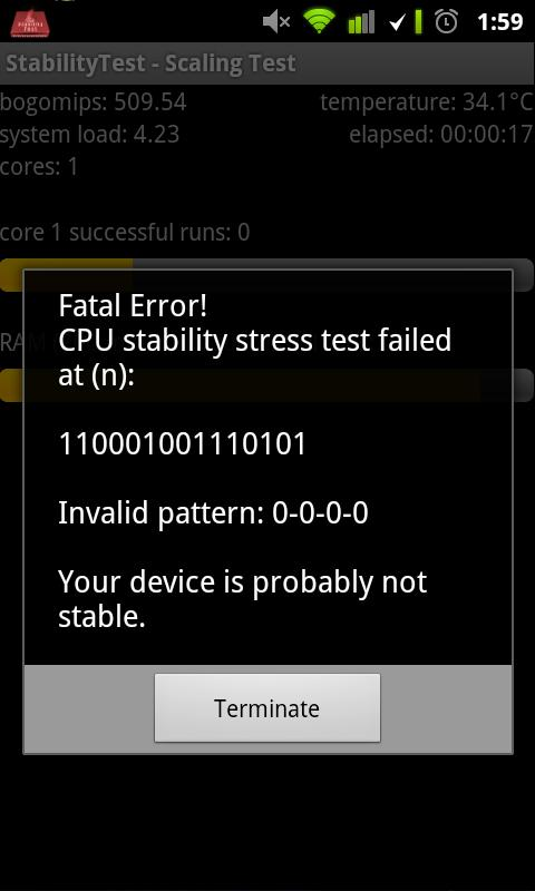 StabilityTest (ROOT optional) – Screenshot