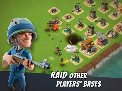 Boom Beach MOD 21.167 (Unlimited Resources) APK