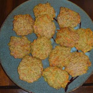 Baked Broccoli and Carrot Quinoa Patties.