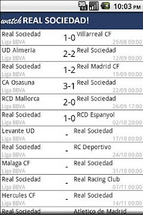Watch Real Sociedad ! - screenshot thumbnail