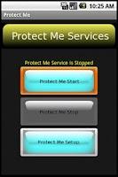 Screenshot of Protect Me