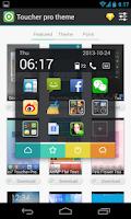 Screenshot of Toucher Premium Package