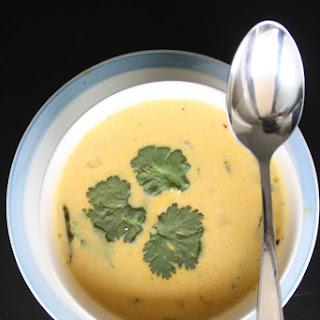 Coconut-Pumpkin Soup.