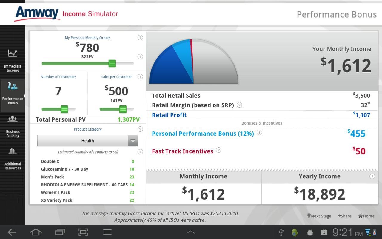AMWAY™ Credibility - screenshot