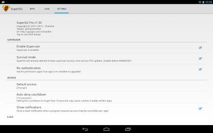 SuperSU Pro Screenshot 12