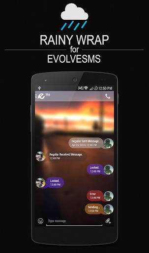 EvolveSMS Theme - Rainy Wrap