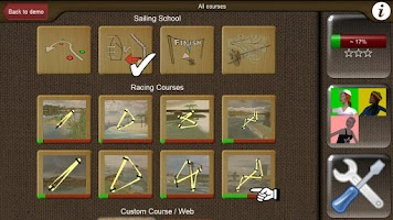 Screenshot of Top Sailor sailing simulator