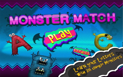 Monster Match: Letters