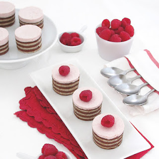 Raspberry Mousse Dessert Recipes.