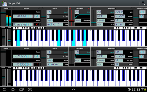 FM Synthesizer [SynprezFM II]- screenshot thumbnail