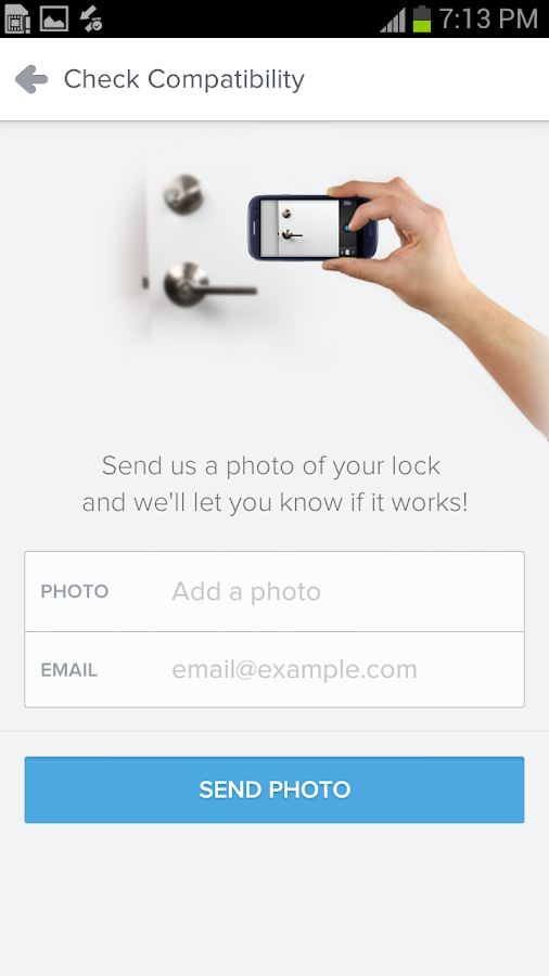 Lockitron - screenshot