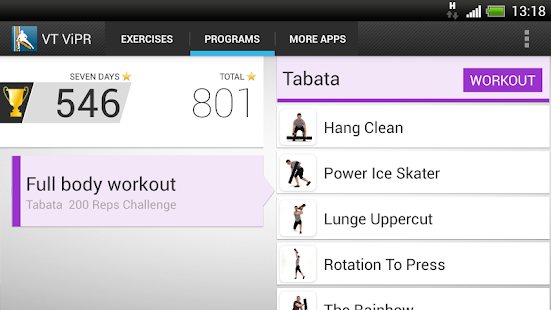 Virtual Trainer ViPR- screenshot thumbnail
