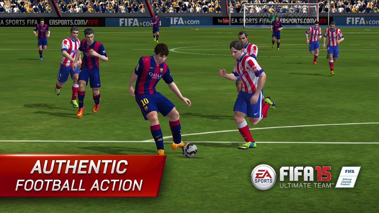 FIFA 15 Ultimate Team - screenshot