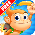 Monkey Math Free - Kids Games icon