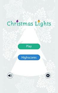 Christmas Lights - Memory Game
