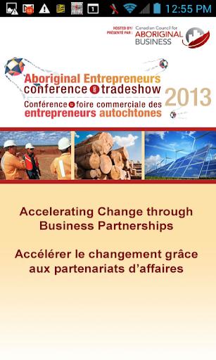 2013 Aboriginal Entrepreneurs
