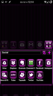 Kosmic Theme Go Launcher EX - screenshot thumbnail
