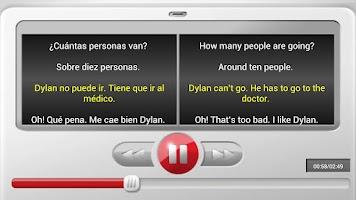 Screenshot of Escucha y Aprende Inglés