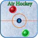 Air hockey arcade game icon