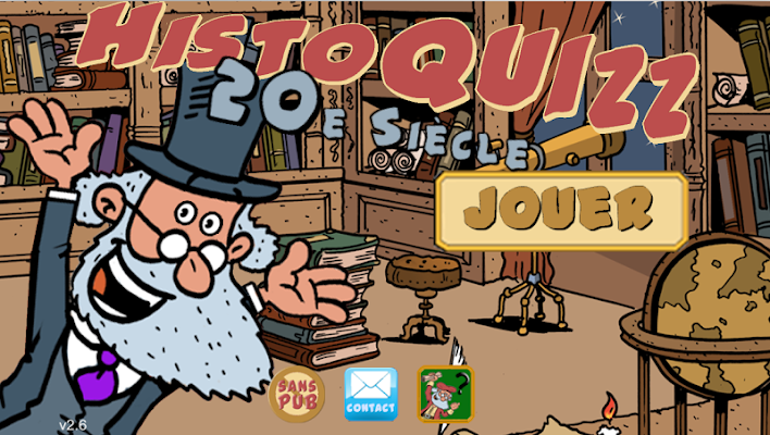 HistoQuizz - histoire du XXe S - screenshot