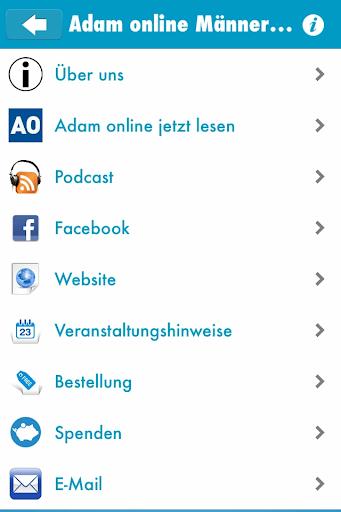 Adam online Männermagazin
