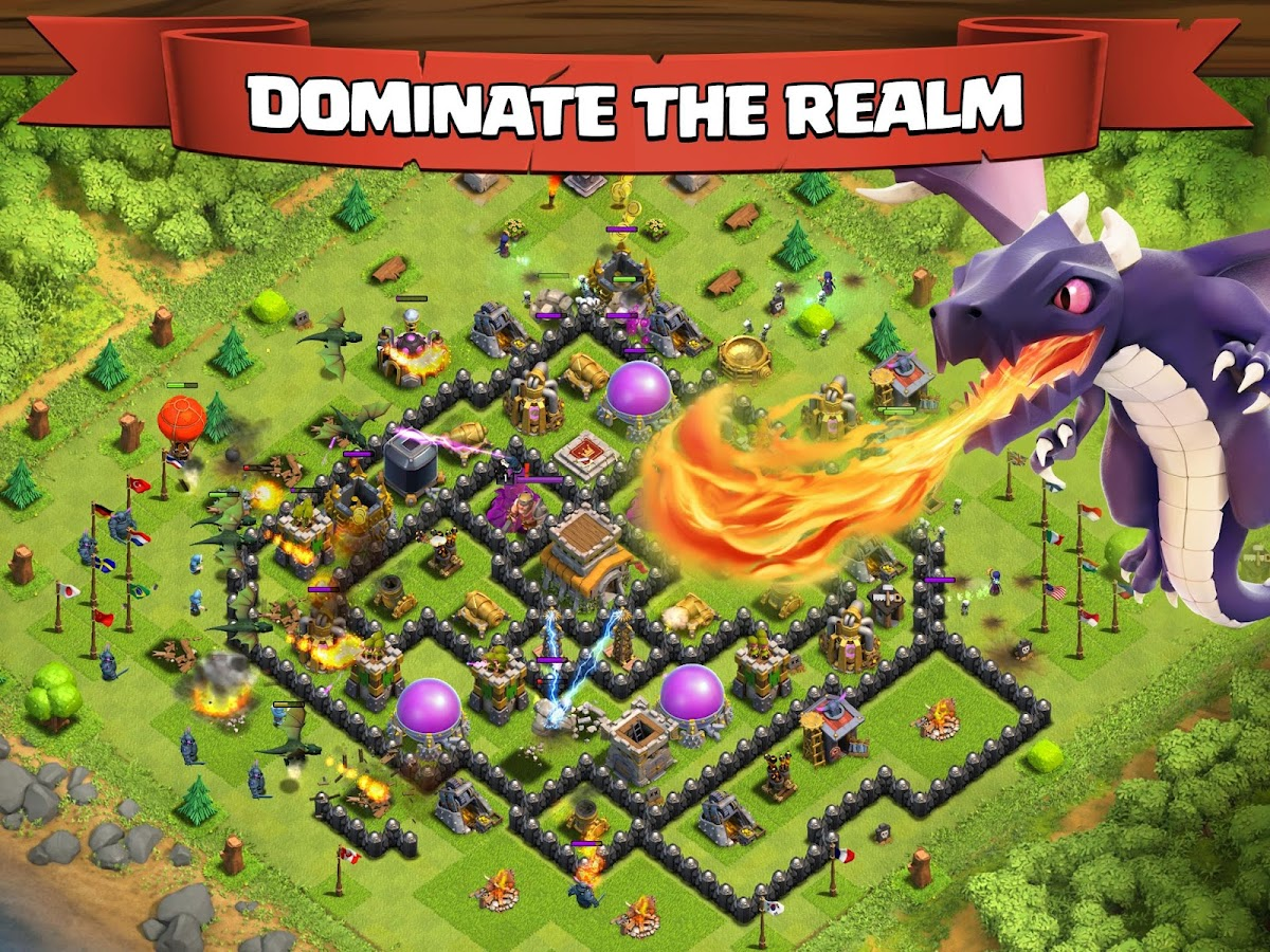 Tải game Clash of Clans cho android