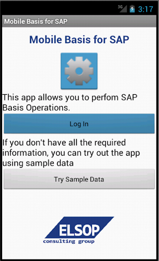 Mobile Basis 2.3 for SAP