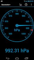 Screenshot of Barometer Altimeter DashClock