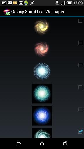 Space Galaxy 3D Live Wallpaper