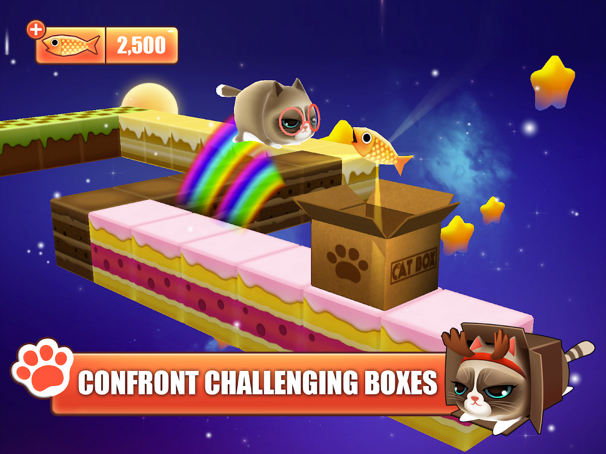 Kitty in the Box- screenshot
