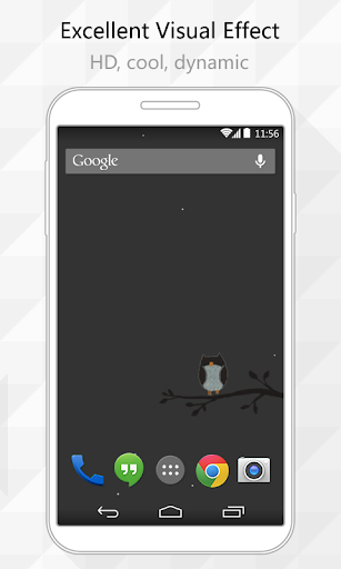 Owl Live Wallpaper