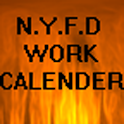 NYFD Work Calender logo