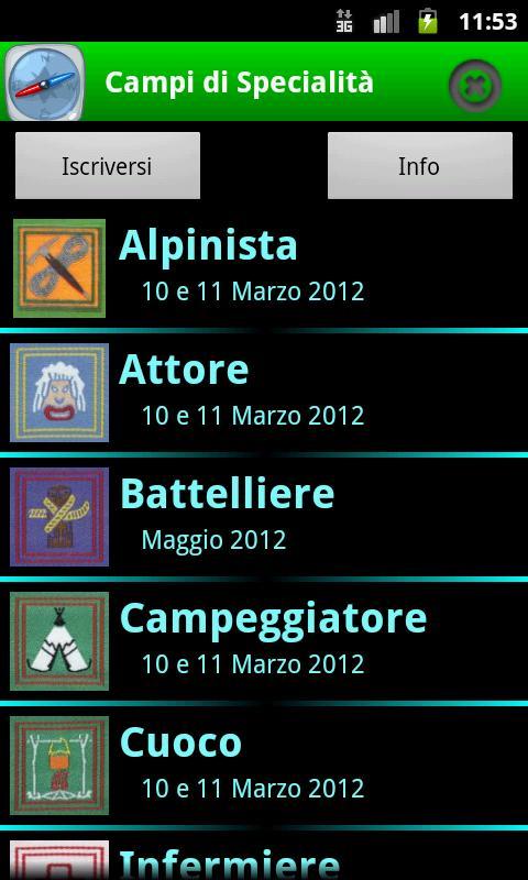 Campi Specialità Umbria 2012 - screenshot